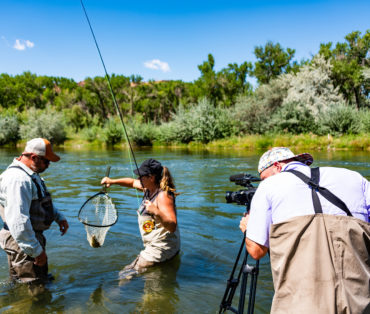 Fly Fishing in Farmington, New Mexico - Photo by Boone Clemmons