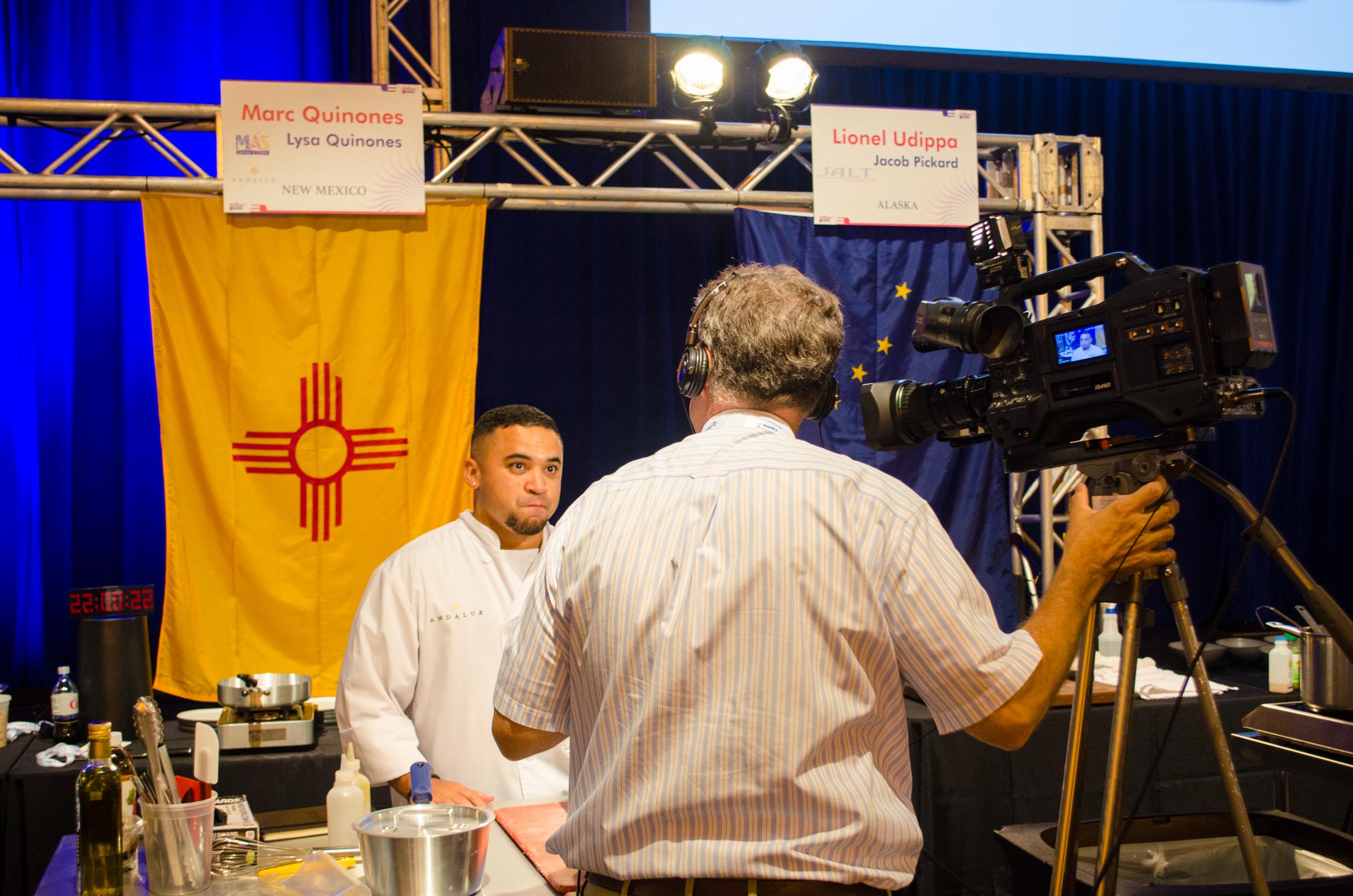 Chef Marc Quionenes - Mas Tapas y Vine - Albuquerque, NM